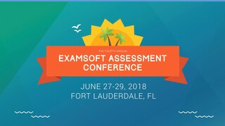 ExamSoft Training: From Student Remediation to Acing Accreditation - Categories are the Answer! - Ashley Castleberry - EAC 2018
