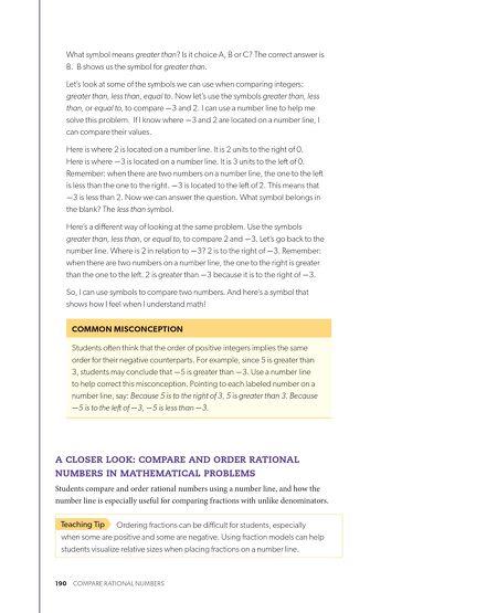Brochures Florida Math 6 Teachers Guide Vol A