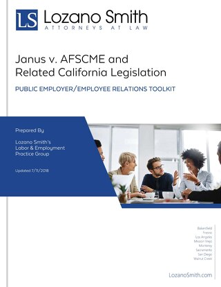 Janus vs. AFSCME: Public Employer/Employee Relations Toolkit