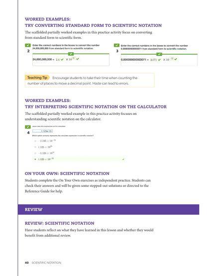 Brochures Florida Pre Algebra Teachers Guide Vol A