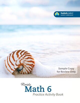 FLORIDA Math 6  Practice Activity Book