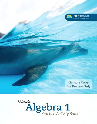 FLORIDA Algebra 1 Practice Activity Book P1