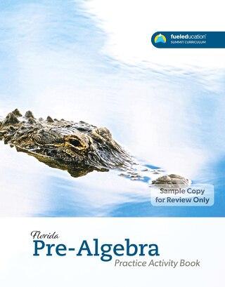 FLORIDA Pre-Algebra Practice Activity Book