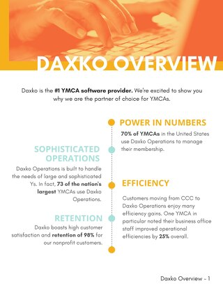 Daxko Overview-YMCA of Greenville