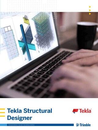 Tekla Structural Designer Brochure