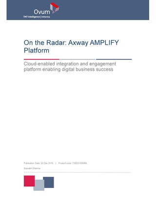 Ovum, On the Radar: Axway AMPLIFY™ Platform