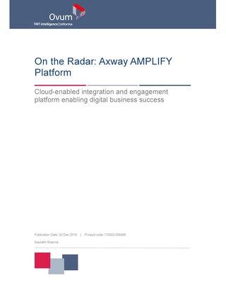 Ovum, On the Radar: Axway AMPLIFY™ Platform