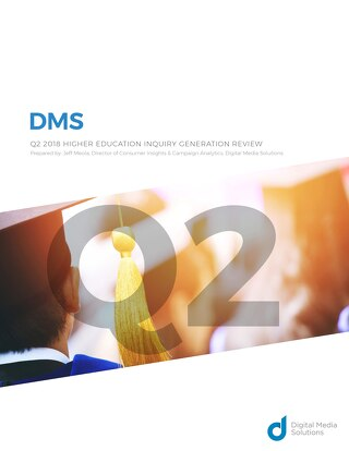 DMS Q2 2018 Higher Education Inquiry Generation Review