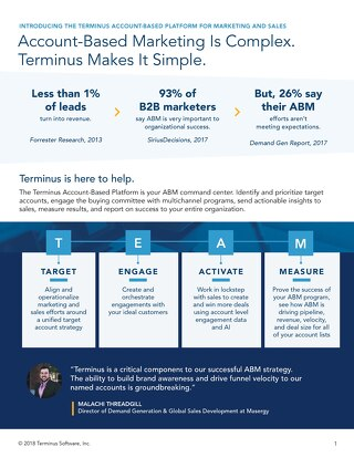 [PDF] Overview: The New Terminus Account-Based Platform