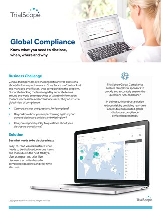 TrialScope Global Compliance Overview