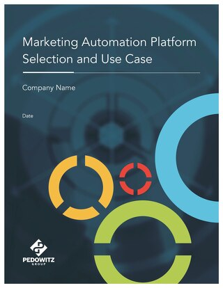 Marketing Automation Use Case Template