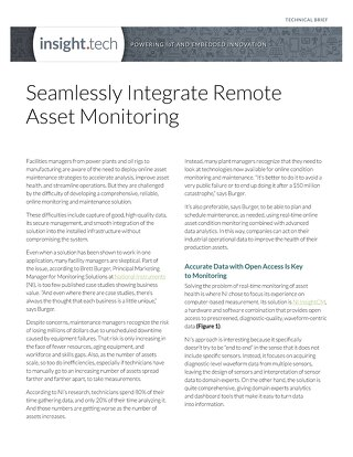 Seamlessly Integrate Remote Asset Monitoring