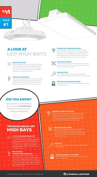 Infographic: A Look at LED High Bays