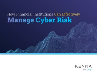 How Financial Institutions Can Effectively Manage Cyber Risk