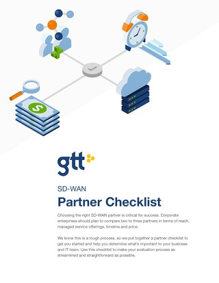 GTT SD-Wan Partner Checklist