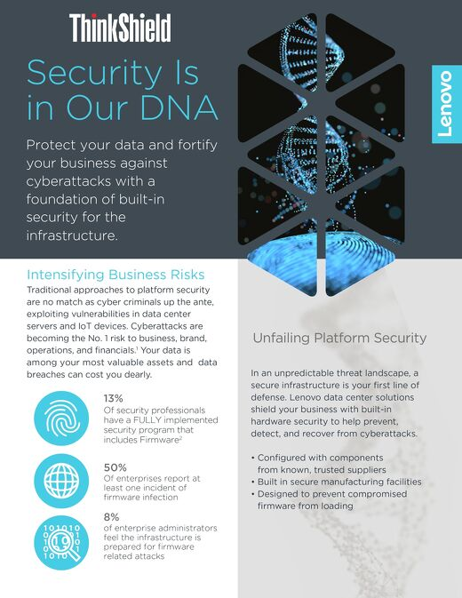 Infographic - Security Is in Our DNA