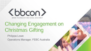 Changing Engagement on a Christmas Gifting Campaign - Philippa Lowe