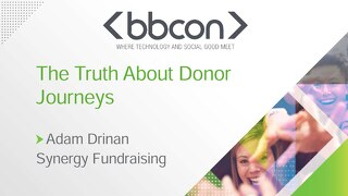 The Truth About Donor Journeys - Adam Drinan