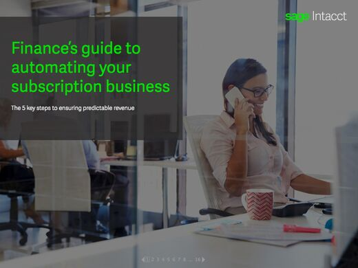 Finance's Guide to Automating Your Subscription Business