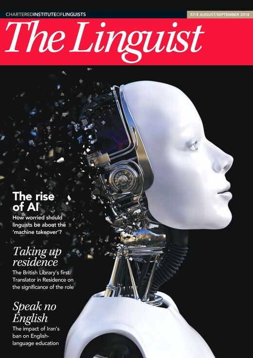 The Linguist 57,4 - August/September 2018