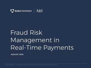 Managing Fraud in Real-time Payments EBook