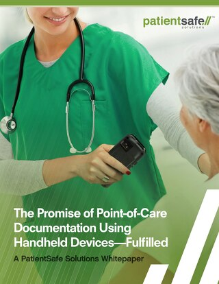 The Promise of Point-of-Care Documentation Using Handheld Devices (Jan 2018)