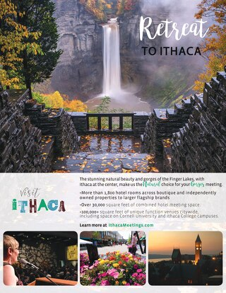 Ithaca Meetings Overview 2018