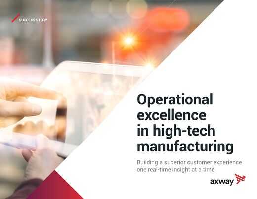 Operational Excellence in High-Tech Manufacturing