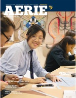 Cover of the 2018 Summer Edition of Palmer Trinity School's Aerie magazine