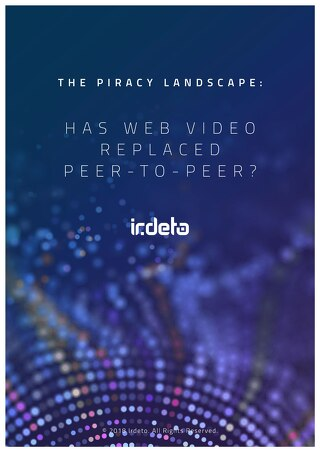 Infographic Piracy Landscape: Has web video replaced P2P?