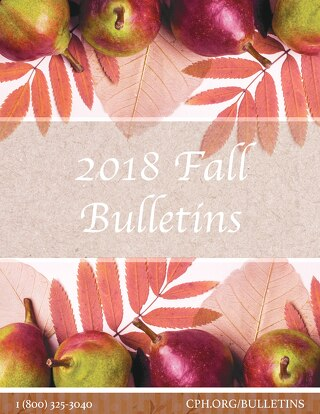2018 Fall Bulletins