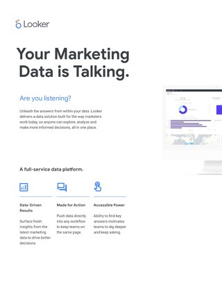 Looker Marketing Overview