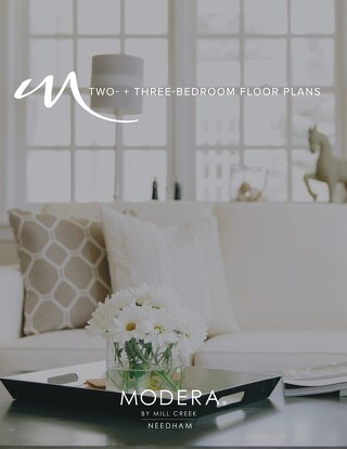 TWO- + THREE-BEDROOM FLOOR PLANS