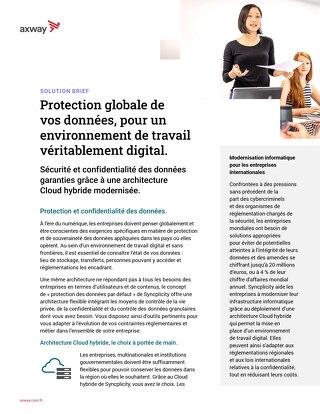 Protection Globale De Vos Données, Pour Un Environnement De Travail Véritablement Digital