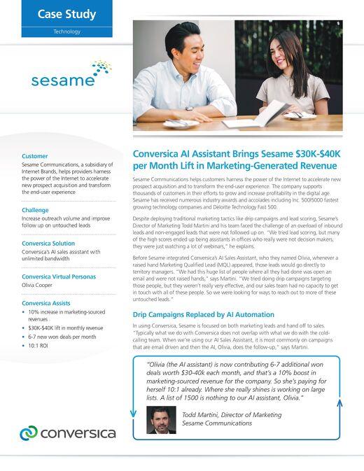 Sesame Case Study