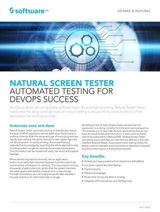 Facts about Natural Screen Tester