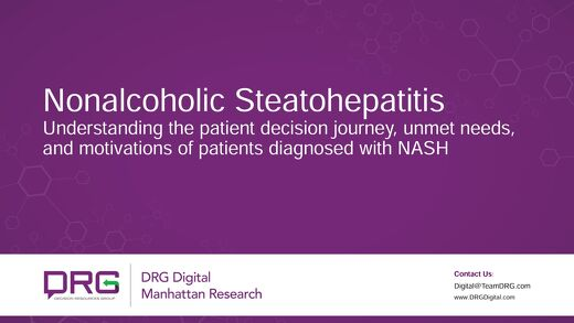 Nonalcoholic Steatohepatitis Understanding the patient decision journey, unmet needs, and motivations of patients diagnosed with NASH