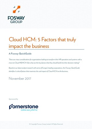 Cloud HCM - 5 Factors that truly impact the business