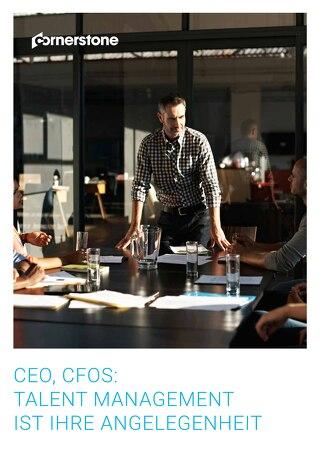 CEO, CFOS - Talent management ist ihre angelegenheit