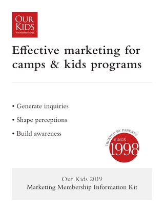 2019 Camp & Program Information Kit