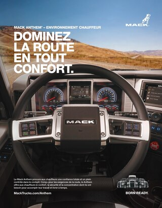 Mack Anthem Driver Environment (French)