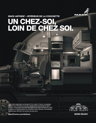 Mack Anthem Sleeper Interior (French)
