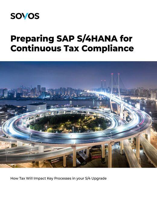 Preparing SAP S/4HANA for Continuous Tax Compliance