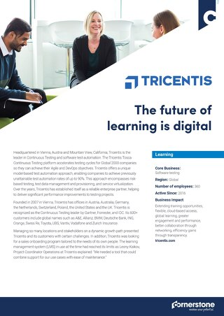 Case Study - Tricentis