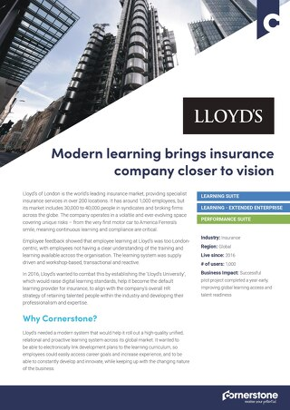 Case Study - LLOYDS