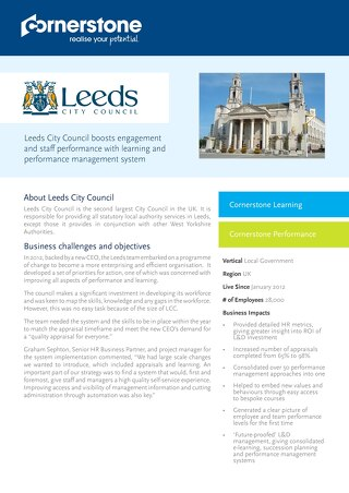 Case Study Leeds City Council