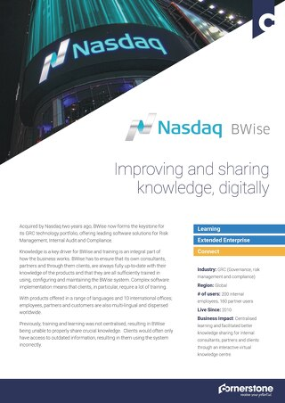 Case Study NASDAQ BWISE