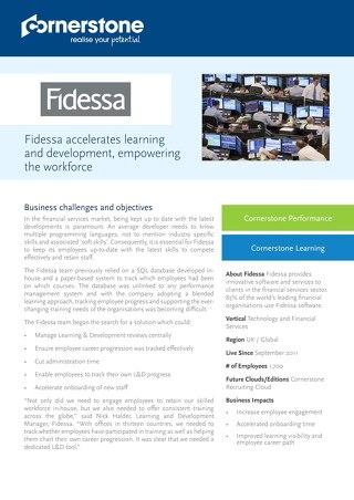 Case Study - FIDESSA