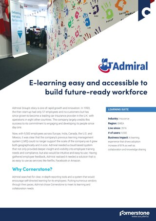 Case Study - Admiral Group