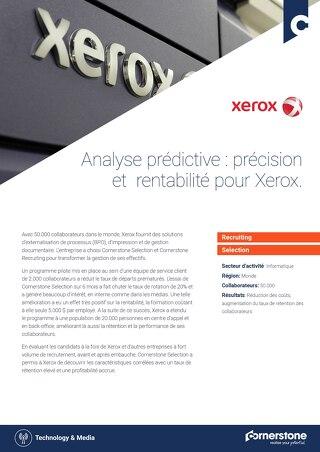 Cas client XEROX